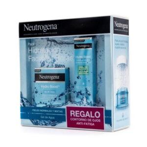 Neutrogena hydro boost gel de agua piel normal mixta+ contorno de ojos